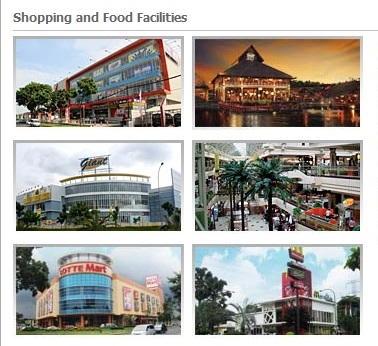 Fasilitas Berbelanja Bintaro Jaya