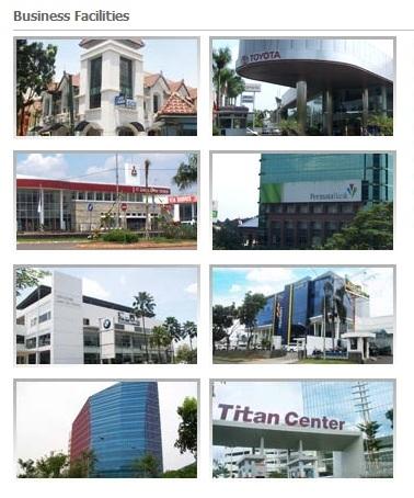Fasilitas Bisnis Bintaro Jaya