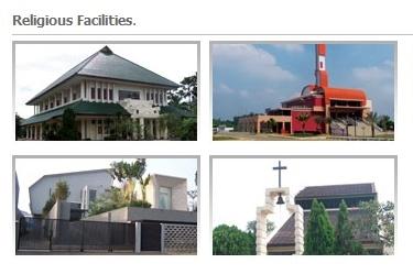 Fasilitas Keagamaan Bintaro Jaya